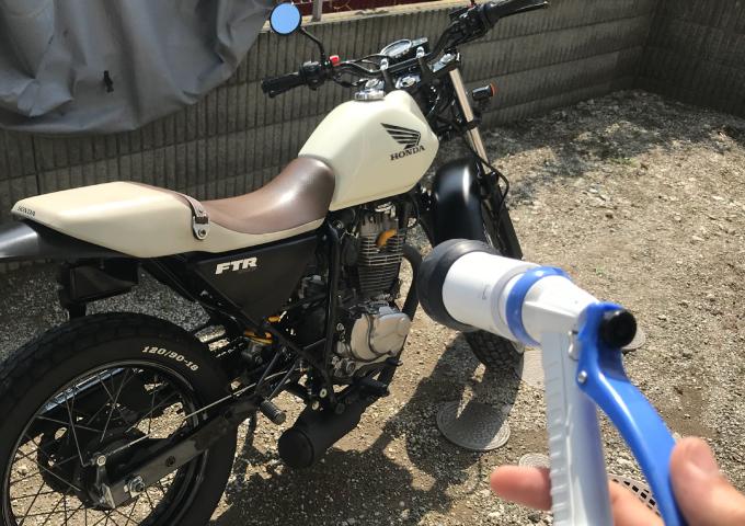 バイク 洗車 初心者