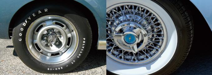 タイヤ ホワイトレター ホワイトリボン