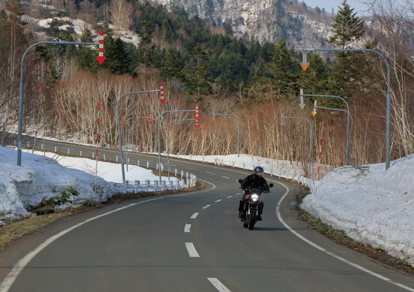 冬 寒い日 バイク あるある