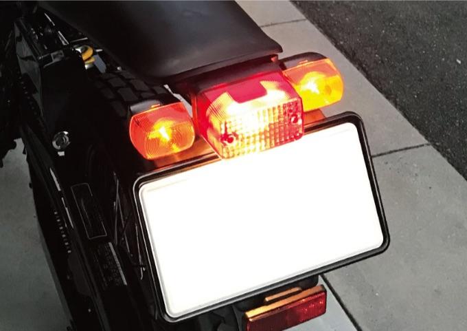 バイク ハザード 機能追加
