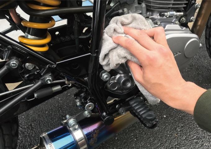 バイク 拭き取り 洗車ツール