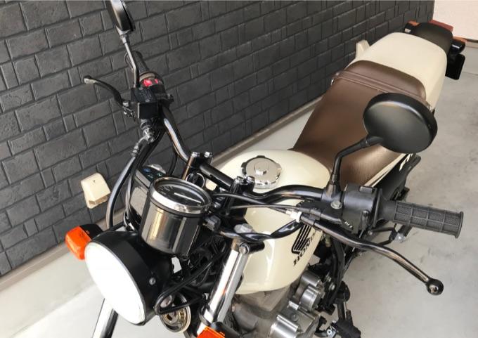 バイク ブレーキレバー 交換