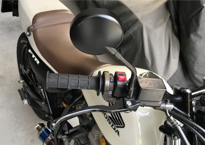 バイク ブレーキレバー 取付