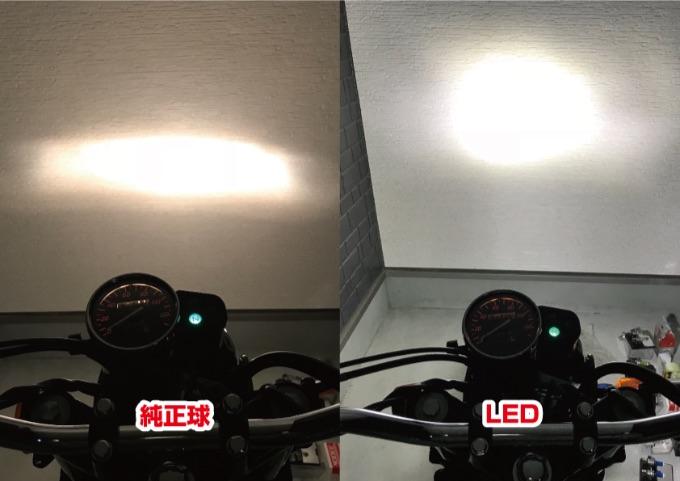 格安 LEDバルブ 明るさ比較