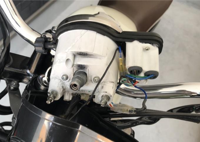 LEDウインカー 取付方法 配線