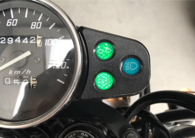 バイク メーターLED化