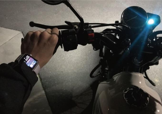 アップルウォッチ バイク 使いづらい