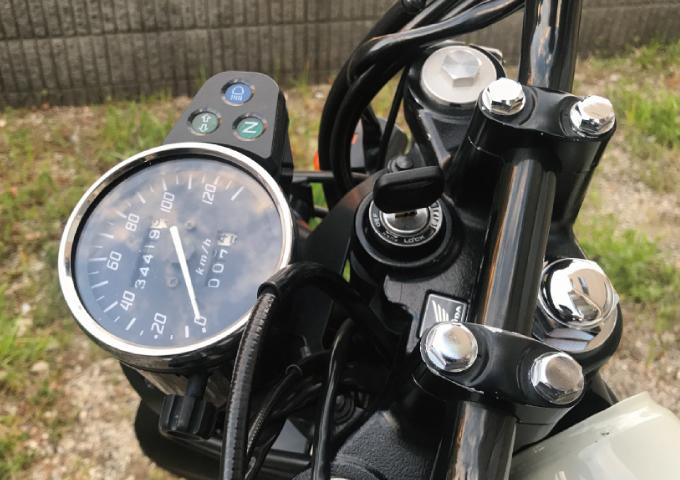 ホンダ 合鍵 バイク