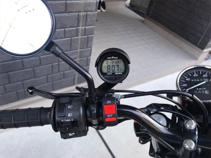 バイク 時計 人気