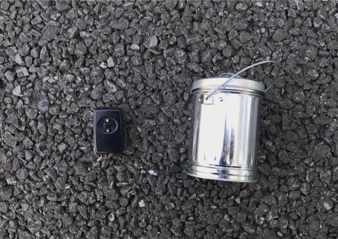 リレーアタック 対策 ブリキ缶