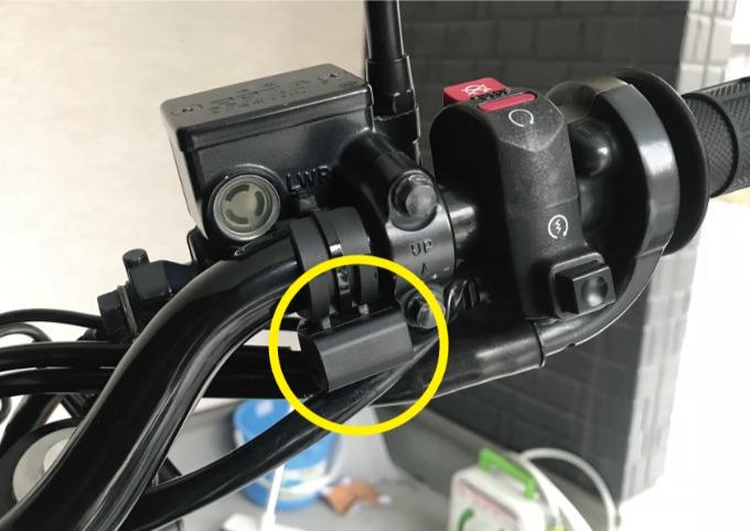 バイク スマートフォン充電器 取付方法