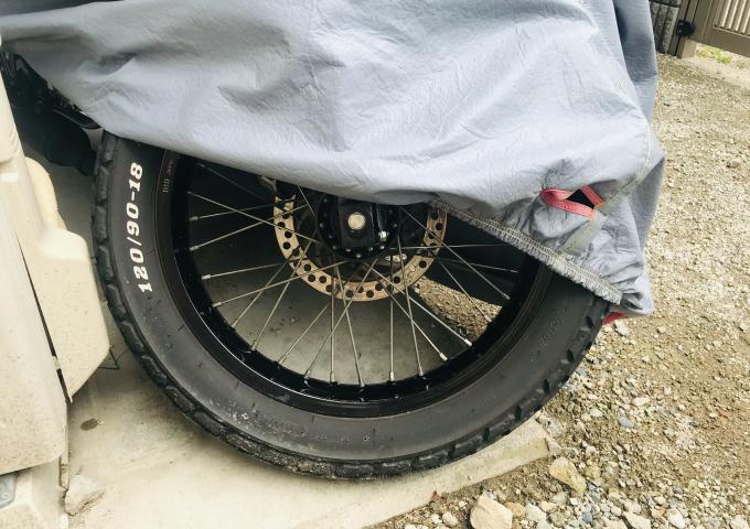 タイヤ 長く使う バイクカバー