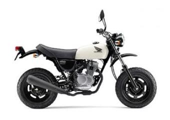 バイク種類 ミニバイク エイプ50
