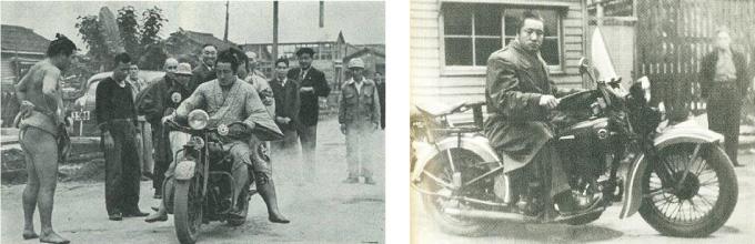 インディアン 力道山 バイク