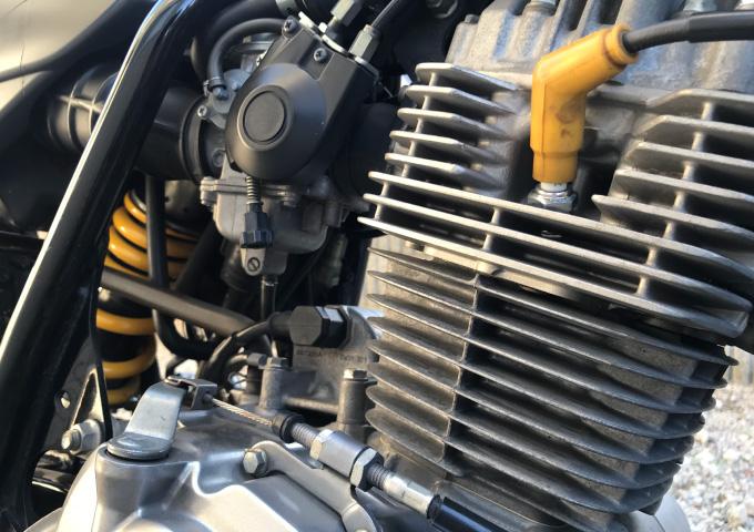 暖機 バイク エンジン