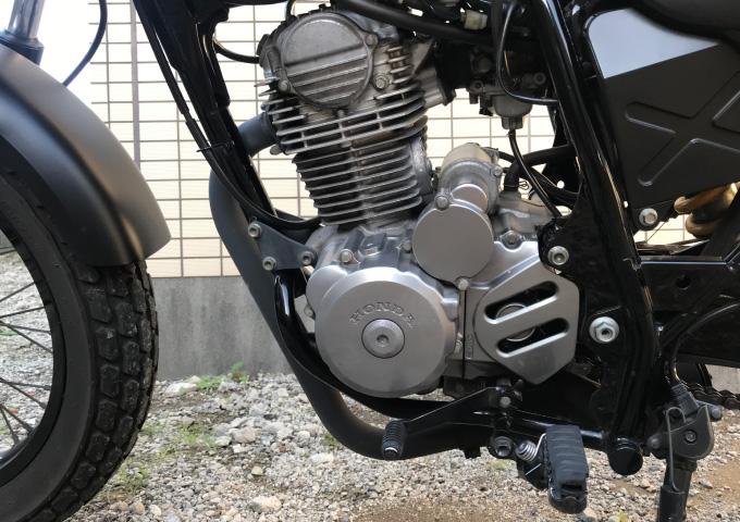 バイク 暖機 エンジン
