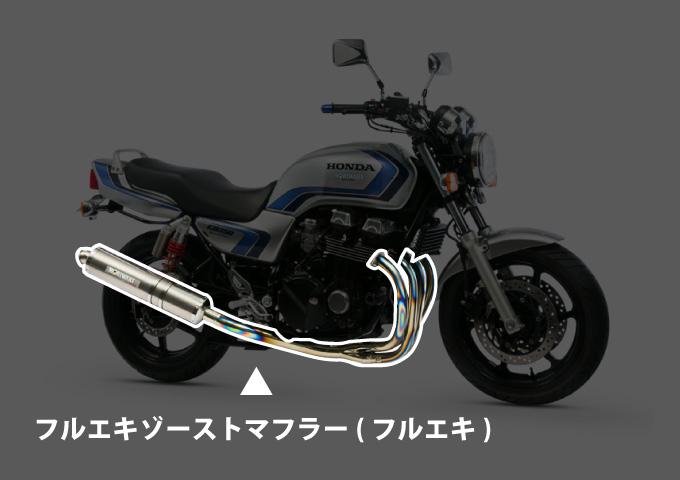 バイクマフラー 選び方 フルエキゾースト