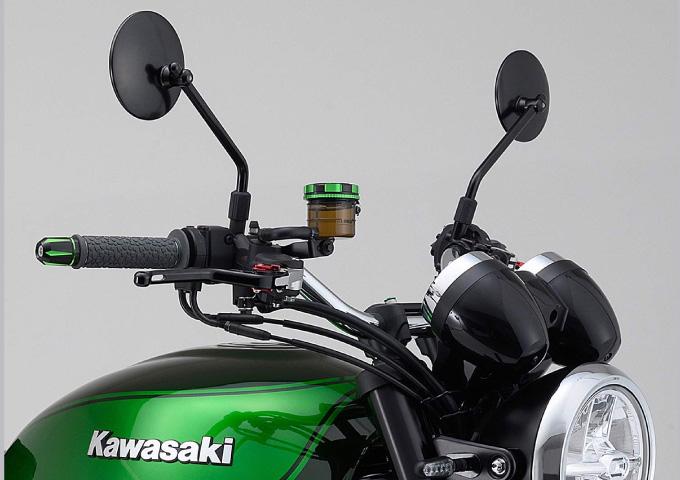 バイク おすすめのミラー 取付位置