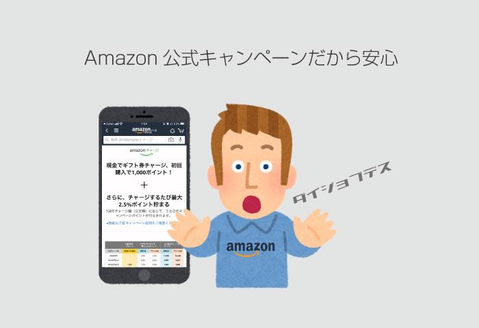 Amazon 公式キャンペーン
