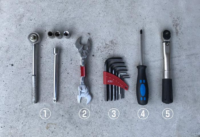 バイク 工具 おすすめ