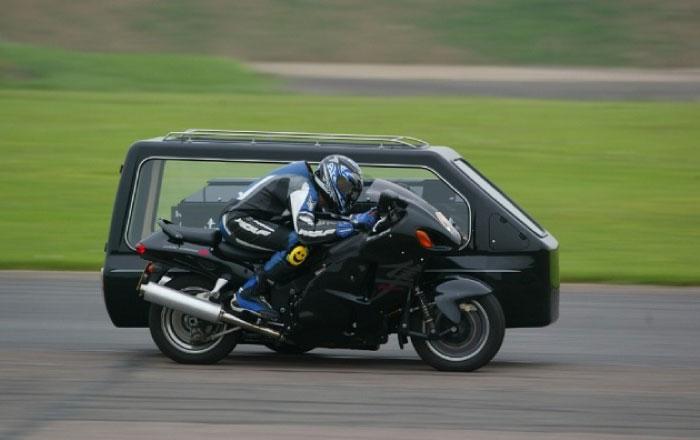 バイク ギネス 霊柩車