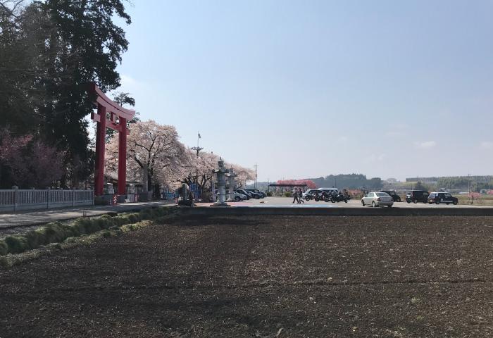 バイク神社 安住神社 鳥居