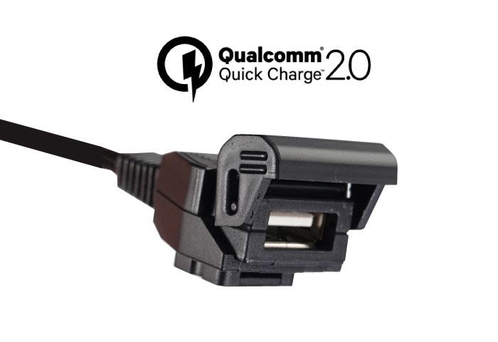 qc2 USBポート バイク用