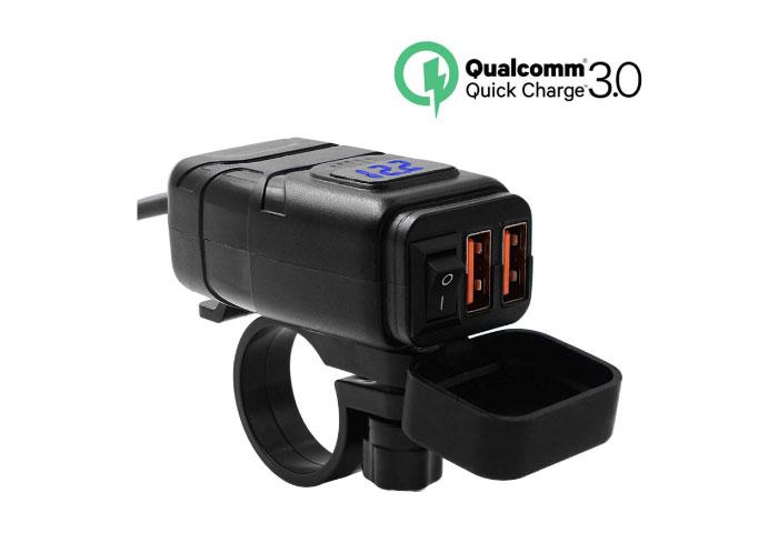 バイク用USB電源 おすすめ 急速充電