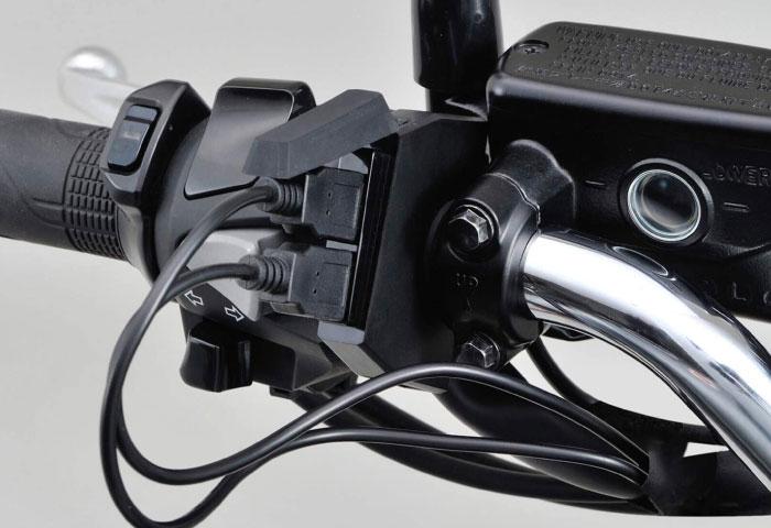 バイク用USB電源 おすすめ スリム