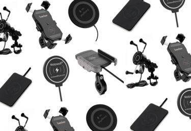 ワイヤレス充電ができるバイク用スマホホルダー6選!おすすめや選び方の注意点
