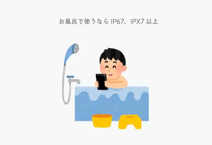 風呂 防水 IP