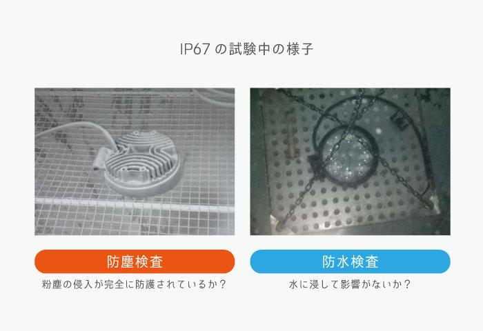 防水 IP 認証