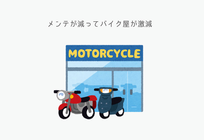 バイク業界 今後 バイク屋
