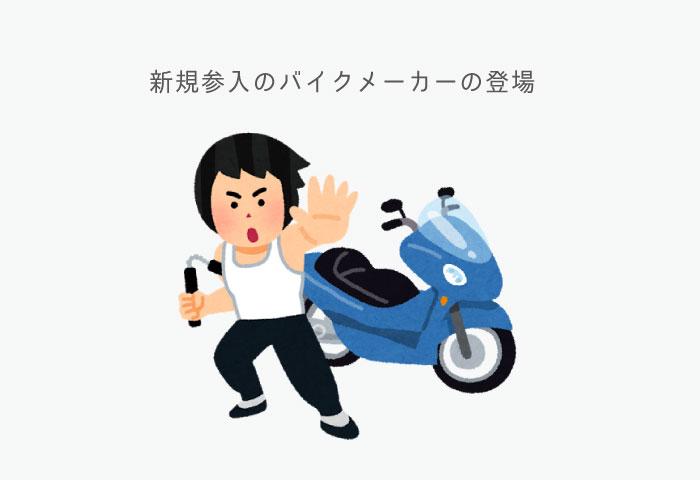 バイク業界 今後 ベンチャー