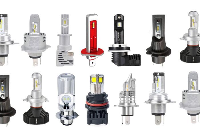 バイク ヘッドライト LED