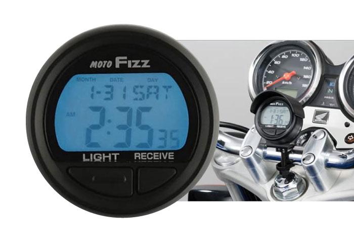 バイク 時計 電波時計