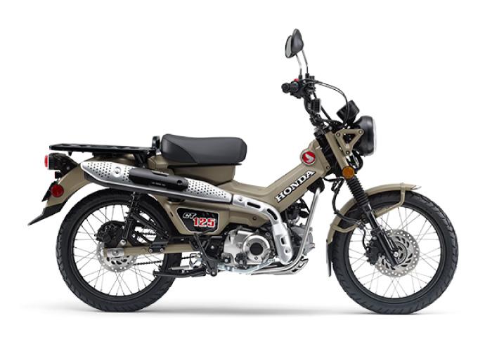 125cc バイク CT125