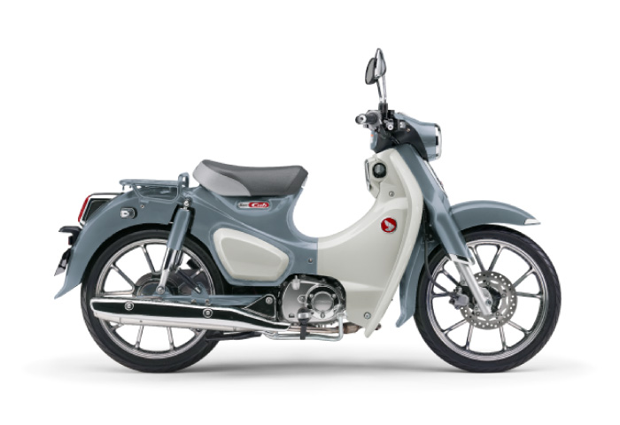 125cc バイク カブ