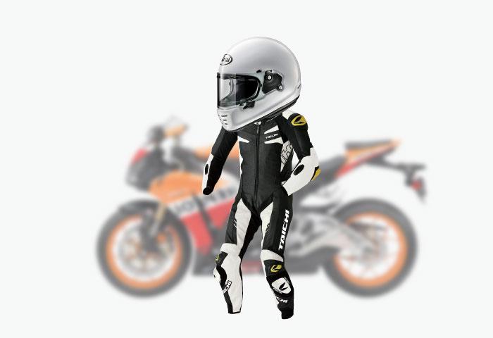 バイク ファッション ツナギ
