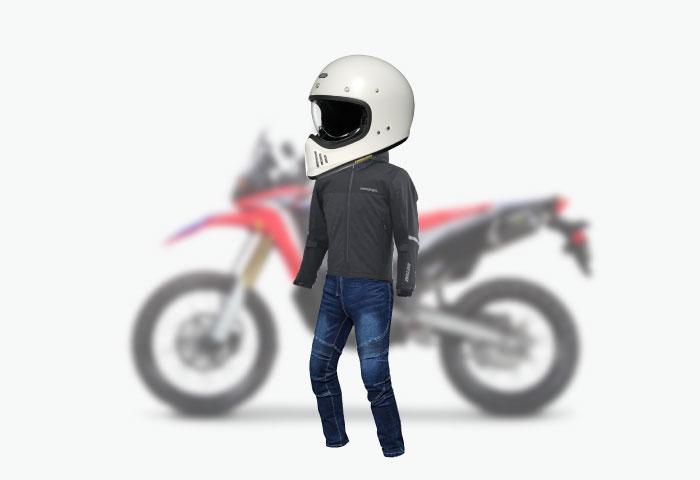 バイク ファッション スポーティー