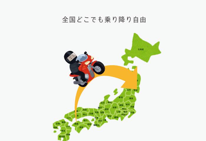 バイク 高速値下げ エリア