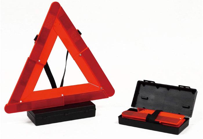 三角表示停止板 バイク コンパクト