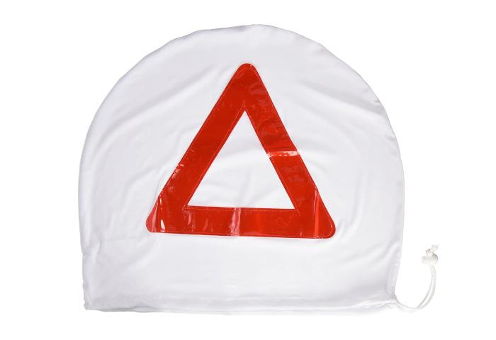 三角表示停止板 バイク コミネ