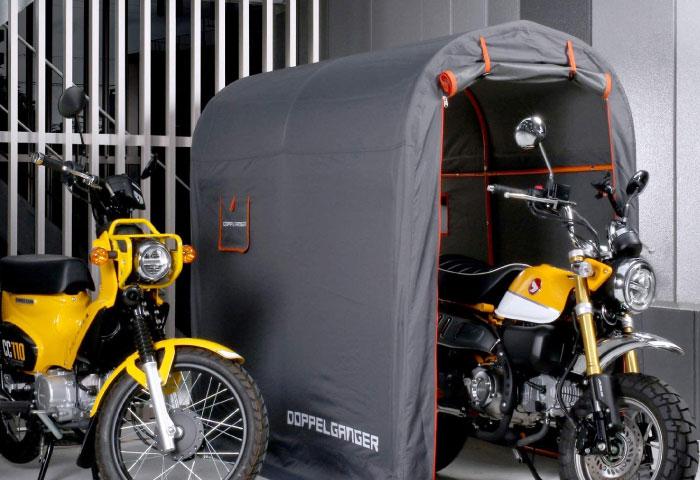 バイク ガレージ 簡易