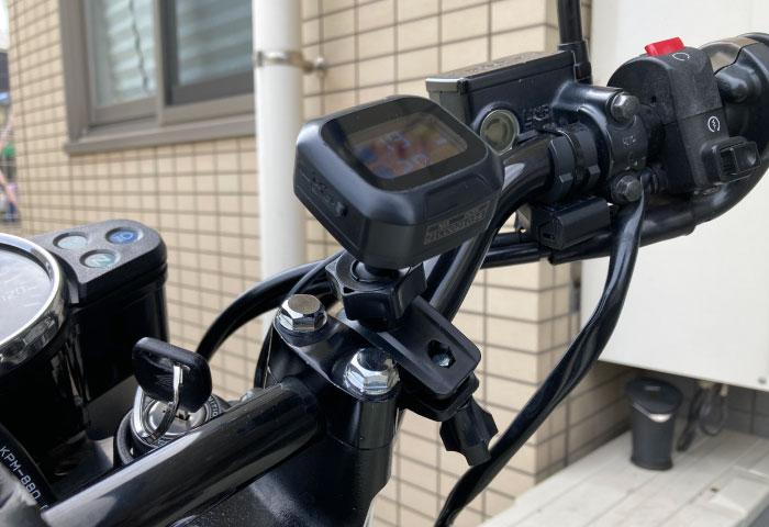 空気圧センサー バイク マウント