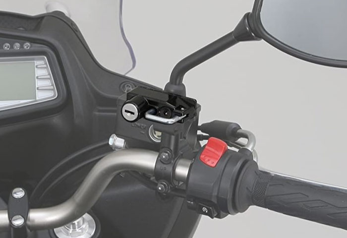 バイク ヘルメットロック キタコ