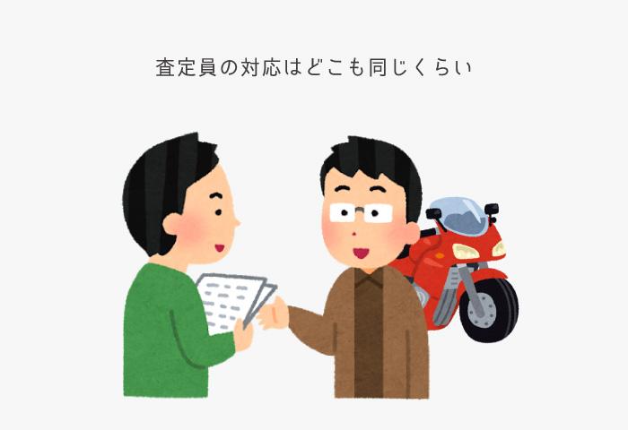 バイク 買取 対応
