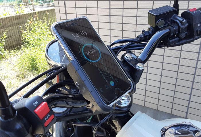 スマホホルダー ワイヤレス充電 レビュー